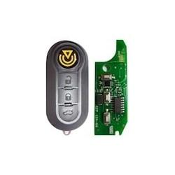 Telecomando Fiat  Tre Tasti Flip Sip22 - 433 Mhz