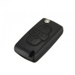Guscio Citroen/Peugeot 4 Tasti Flip HU83 Batteria su Guscio