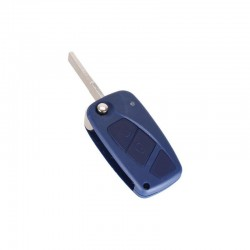 Guscio Fiat Blu Due Tasti Flip SIP22