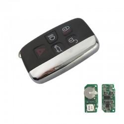 Radiocomando  Landrover Quattro Tasti + 1 Tasto Panic - PCF7953P 434 Mhz