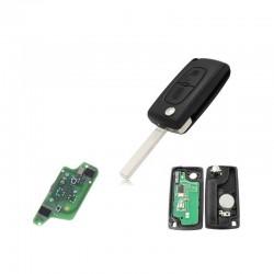 Radiocomando Citroen/Peugeot Due Tasti VA2 -  PCF7941 - 433 Mhz