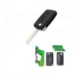 Radiocomando Citroen/Peugeot Due Tasti Flip VA2 - PCF 7941 - 433 Mhz