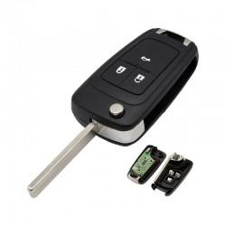 Radiocomando Opel Tre Tasti Flip HU100 - 434 Mhz