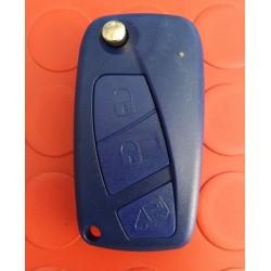 Guscio Fiat Blu Tre Tasti Flip SIP22