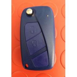 Guscio Fiat Blu Due Tasti SIP22