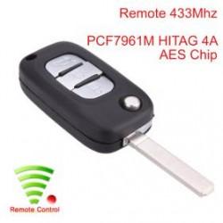 Radiocomando Benz Tre Tasti Flip VA2 - 434 Mhz