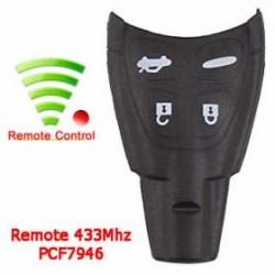 Radiocomando SAAB Quattro Tasti - 433 Mhz