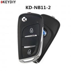 Keydiy Radiocomando Citreon-Peugeot Due Tasti Multifunzione NB11