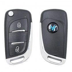 Keydiy Citroen-Peugeot Due Tasti B11
