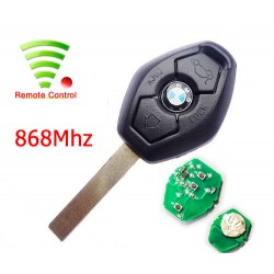 Radiocomando Bmw Tre Tasti 5 Series CAS2 -  PCF7942 - 868 Mhz